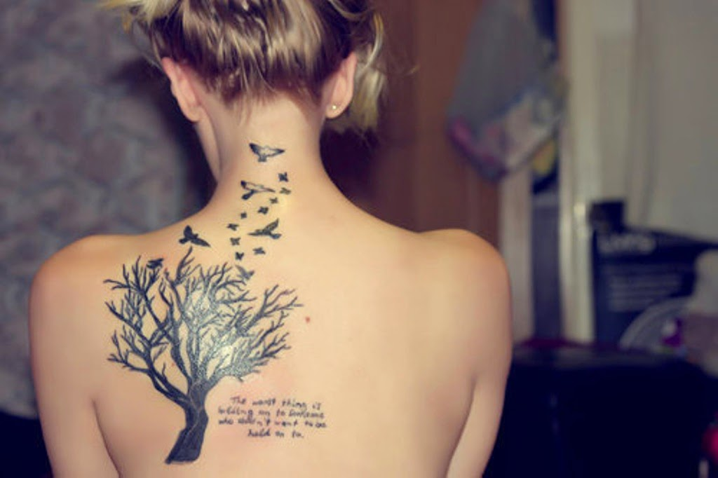 Girl Quote Tattoos