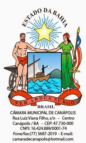 CÂMARA MUNICIPAL DE CANÁPOLIS
