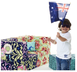 Noosh: Frankie Kids Sofa