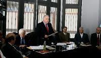 Alberto Borea junto a ilustres juristas, promueve iniciativa ciudadana para reformar la Constitución de 1993. Foto: ANDINA/Víctor Palomino