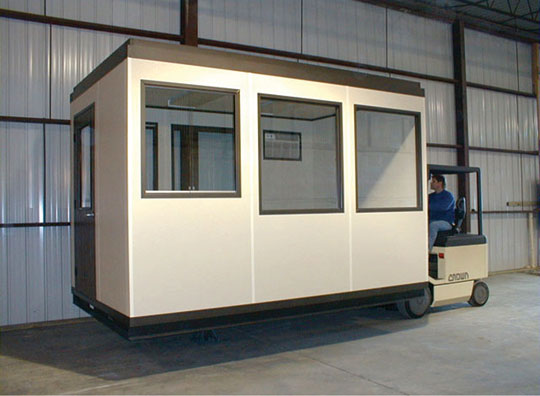 Dwellers without decorators prefab office for Portable shed office