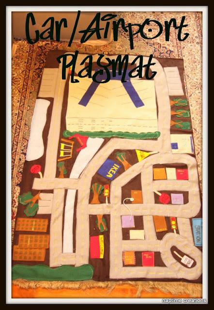 felt playmat