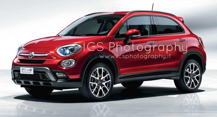 new fiat 500x here are the first official photos doctor. Black Bedroom Furniture Sets. Home Design Ideas