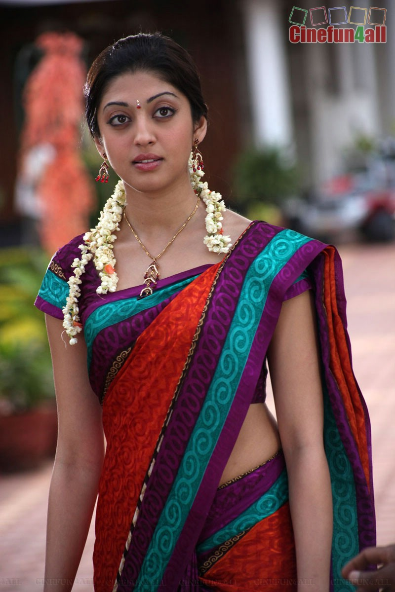 Pranitha Hot in Yellow Saree  Telugu songs free download