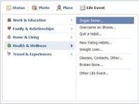 Herramienta para donar órganos de Facebook
