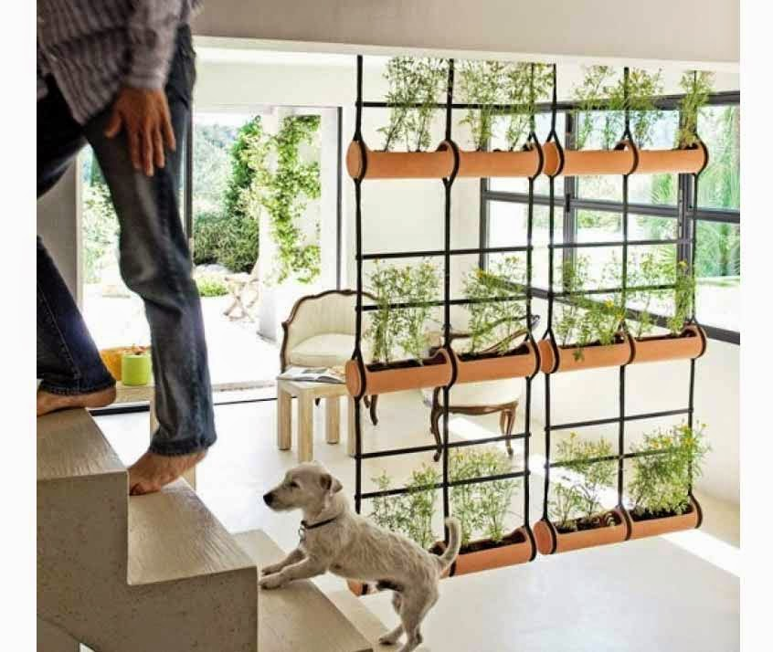 Stylist room dividers with nature theme partition Interior Design