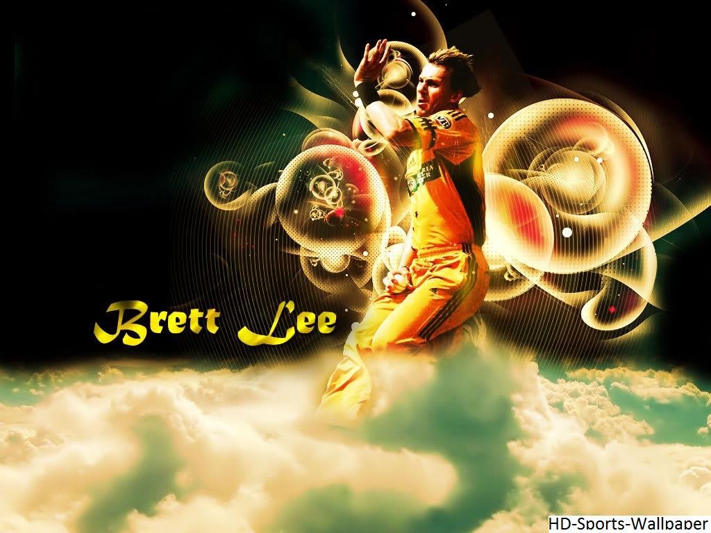 Hd Sports Wallpaper Brett Lee Australian Bowler Fast Bowler