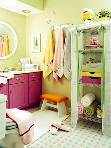 Young Girls Bathroom Ideas | Home Design