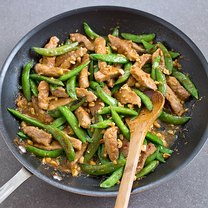 Pork Sugar Snap Pea Stir Fry Recipe