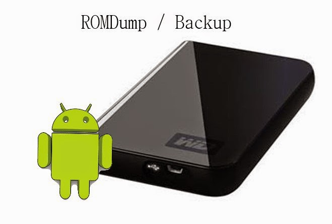 android romdump backup