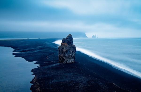Iceland - Vik: Distant Fingers by John & Tina Reid