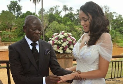 'My wife is from Cape Verde, why I married her' Adams Oshiomhole