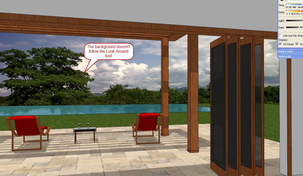Sketchup for Interior Design Backgrounds and Landscape Views in
