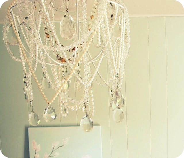 My house of giggles diy chandelier as lovely as this little bundle of junk turned out if id known there were beautiful chandeliers like this one pictured below for such a crazy cheap aloadofball Gallery