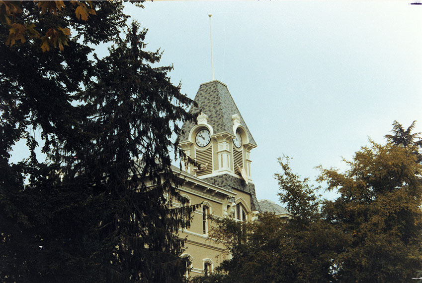 Benton Hall Oregon State Clock Tower