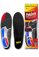Spenco Shoe insoles Polysorb package