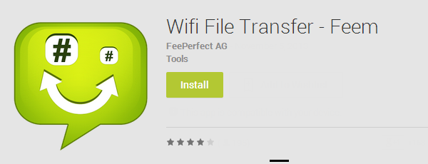 partage de fichier entre Android et iPhone