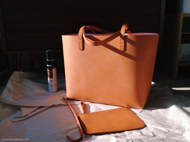 4 When The Bag Is Dry Take Cloth And Do A Final Round Of Gentle Buffing All Over This Will Leave Leather With Nice Glowy Sheen