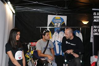 Rodrigo Concha, piloto del Team Stratos, también pasó a saludarnos