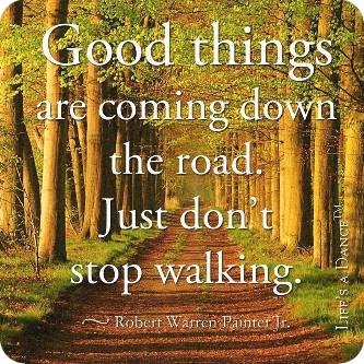 dont stop walking