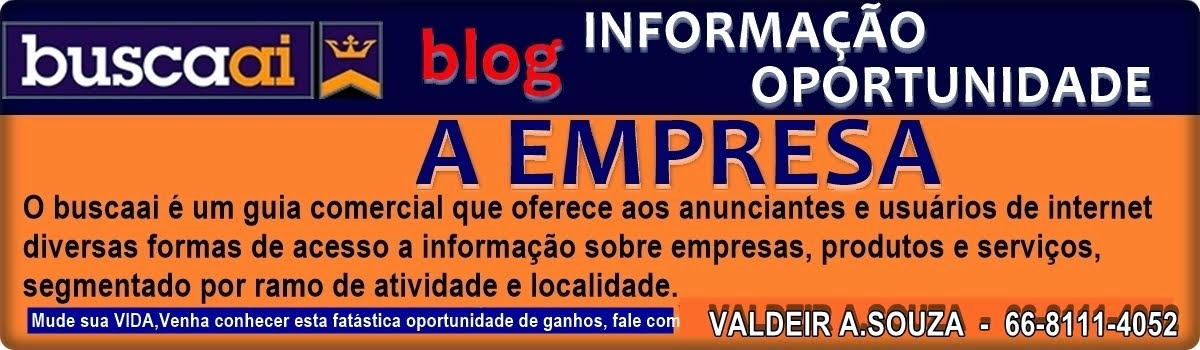 BLOG DO VALDEIR