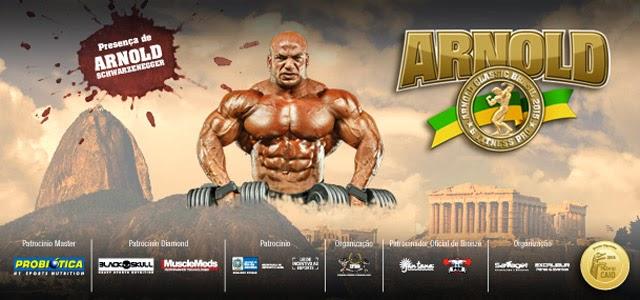 Arnold Classic Brasil 2015. Foto: Divulgação