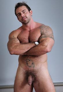 Hot Naked Gay Hairy Cowboy