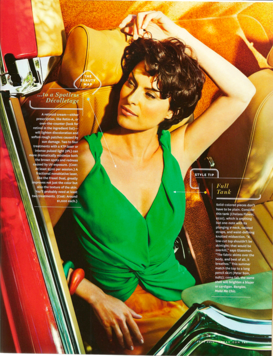 Make Me Chic In The News    O Oprah Magazine July  11 Issue
