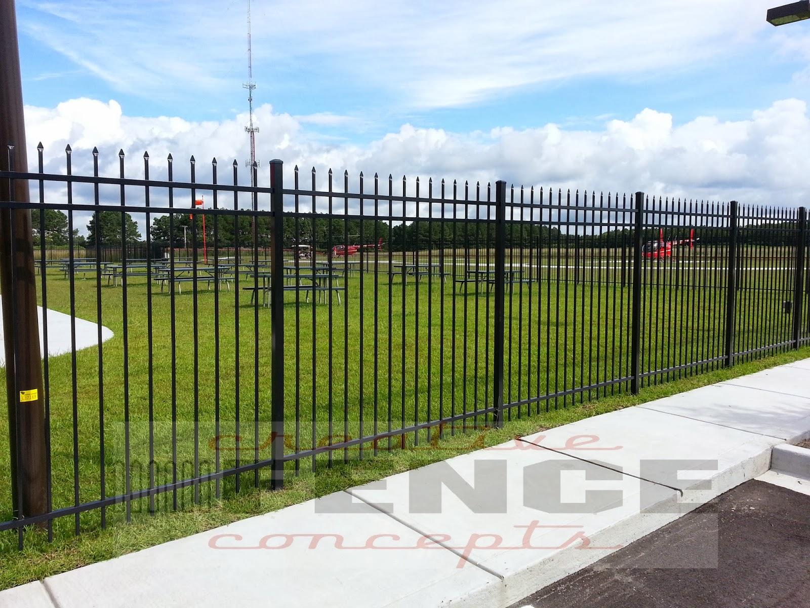 aluminum fences creative fence concepts