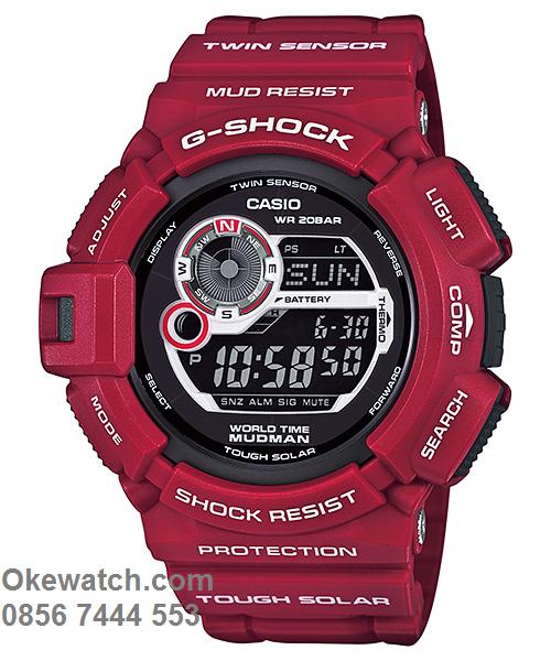 harga jam tangan g-shock mudman limited