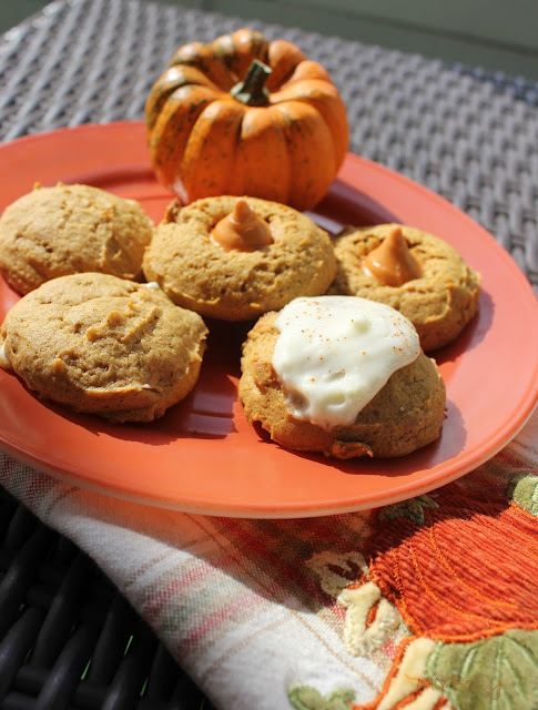 Pumpkin Biscoff Cookies/ This and That #pumpkin #biscoff #cookies