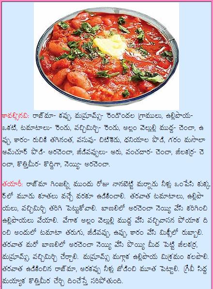 Healthy food recipes mushroom rajma curry recipe in telugu mushroom rajma curry recipe in telugu forumfinder Choice Image