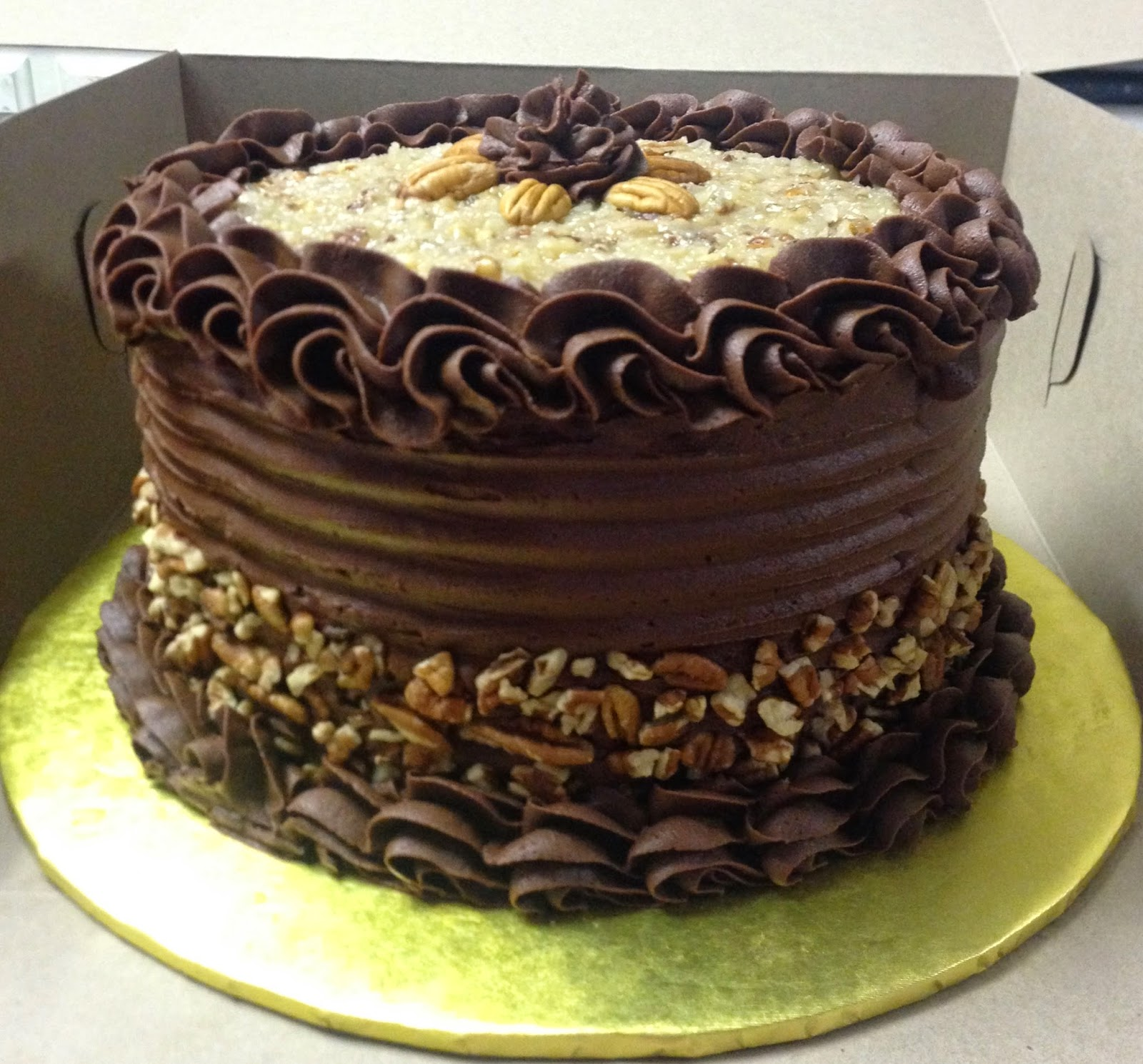 "Cakes by Mindy: German Chocolate Cake 8"""
