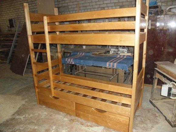Двухъярусные кровати фото своими руками