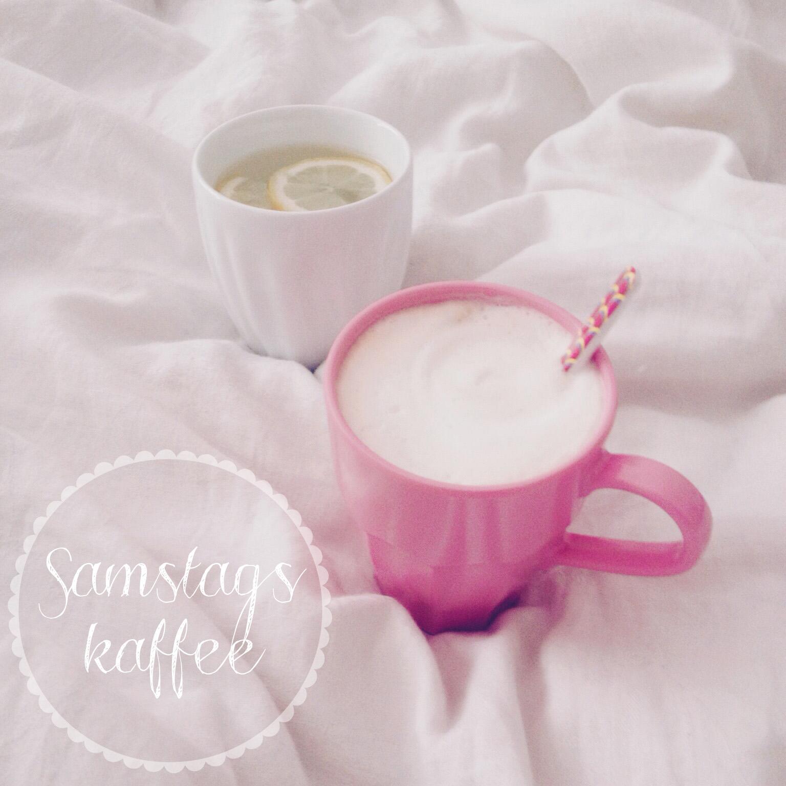 Samstagskaffee im Bett