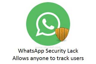 WhatsApp Security Lack - Allows anyone to track users