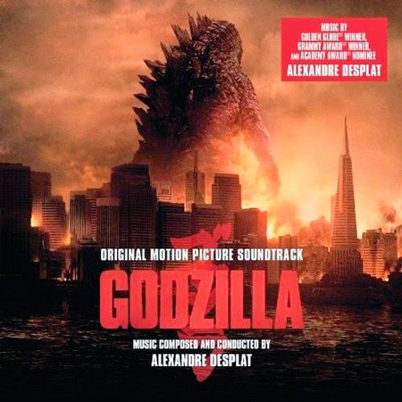 Godzilla 2014 soundtrack