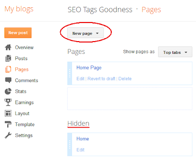 how to add blog posts to pages on blogger