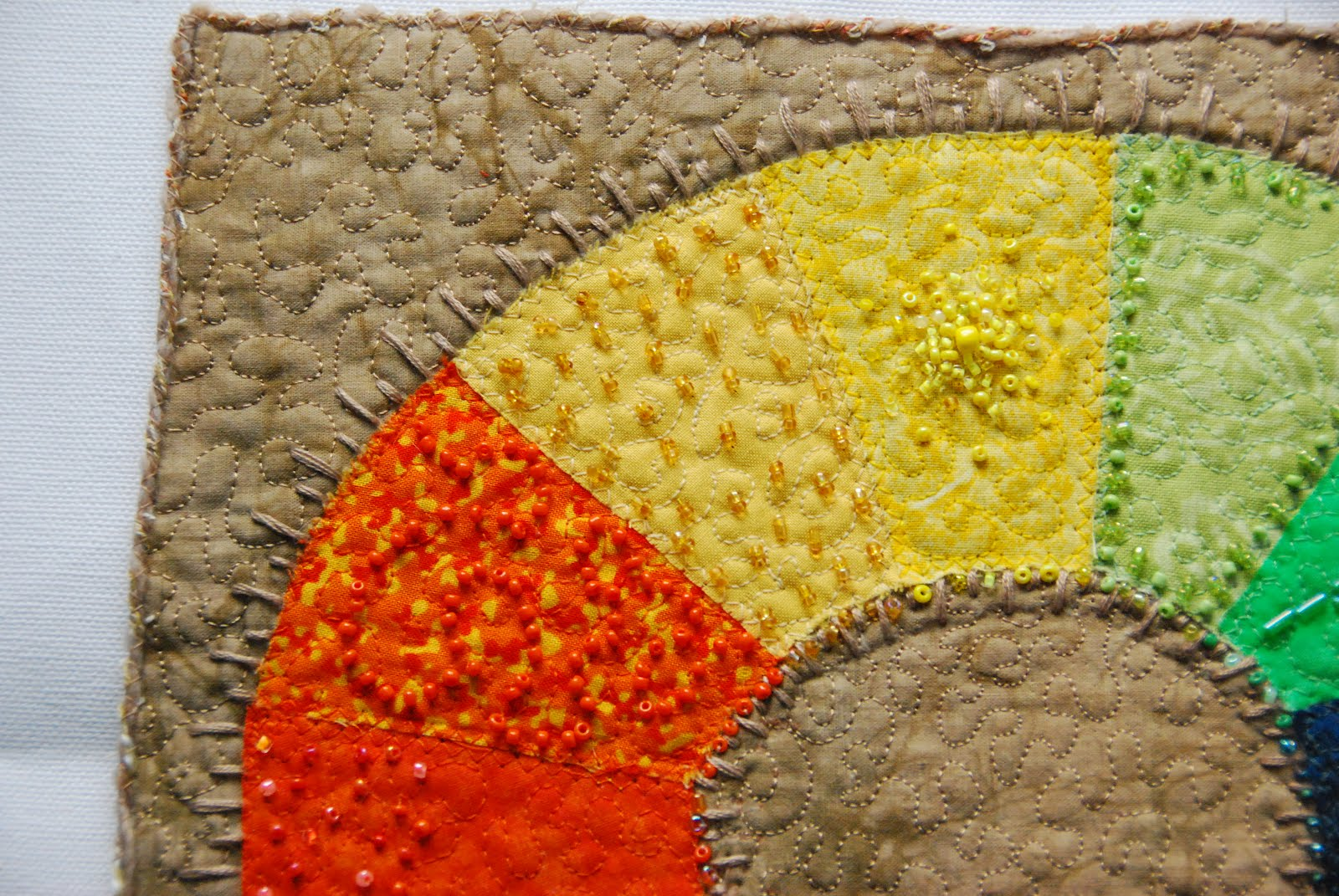 Kendra Wood: Wall Hanging - color wheel