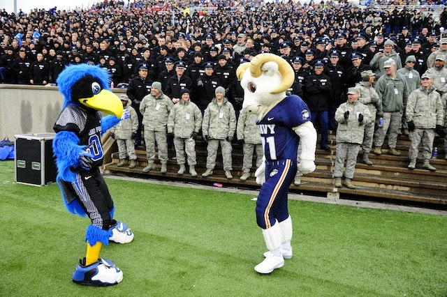 Saturday's rivalry game between Air Force and Navy is in jeopardy due ...