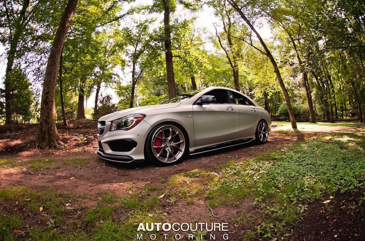 mercedes benz cla 45 amg with some styling grunt carscoops. Black Bedroom Furniture Sets. Home Design Ideas