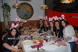 Despedida de soltera en restaurante en Granada 5