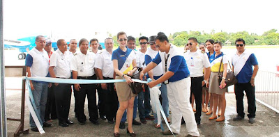 fil-asian airways inaugural flight