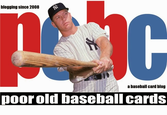 Poor Old Baseball Cards
