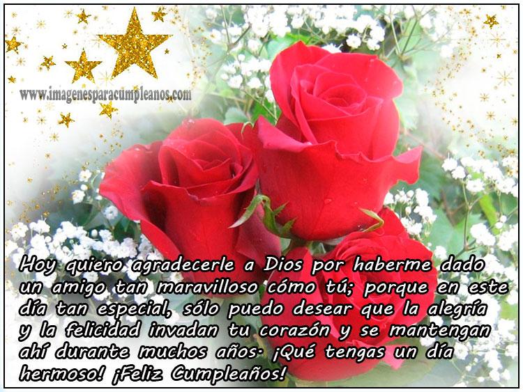Imagenes De Cumpleaños Para Mujeres De Rosas - Imágenes de Feliz Cumpleaños con Flores ツ Tarjetas y