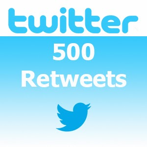 Buy 500 Twitter Retweets