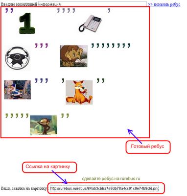 Как сделать слова на картинке