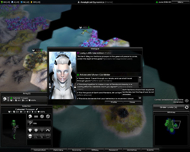 Pandora: First Contact - Other Races Screenshot