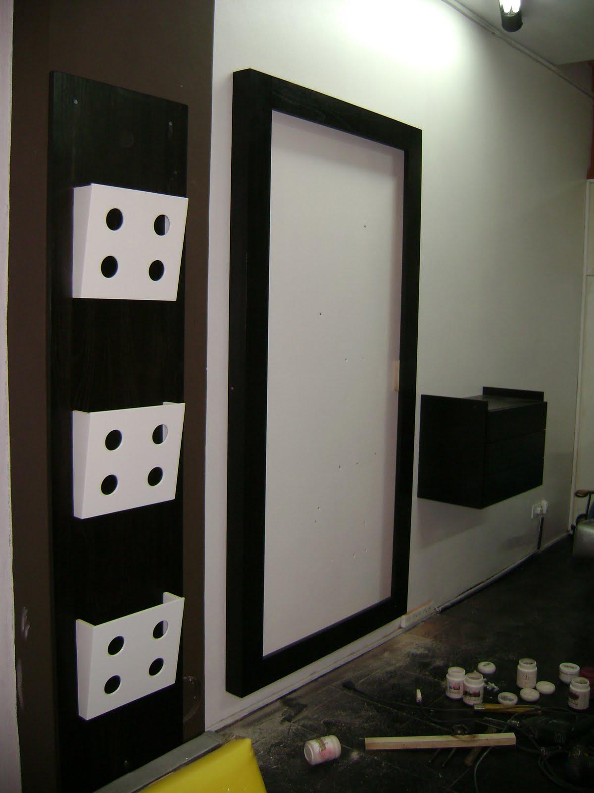 Muebles a medida decocarpinteria muebles para for Disenos de espejos para peluqueria