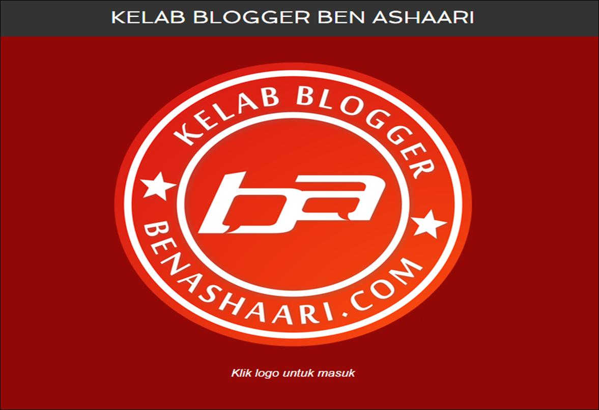 Laman Web Kelab Blogger Ben Ashaari